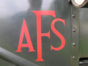 AFS Brockhouse trailer sign