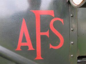 AFS Brockhouse trailer sign