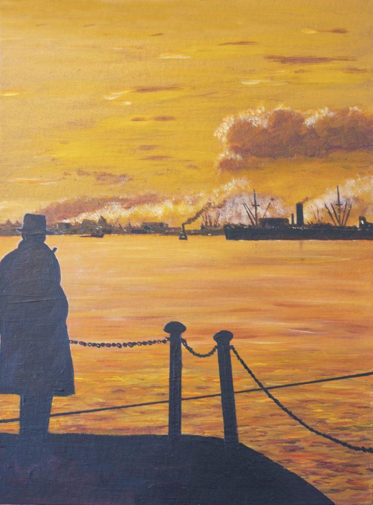 River Thames 1950s