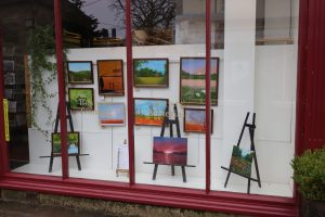 Gallery of Arne's 2020 artwork in Corsham High Street, Wiltshire