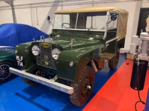 Wonderful restoration with hand painted number plates